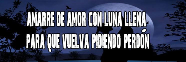 Amarre Con Luna Llena Para Que Vuelva Y Te Pida Perdón
