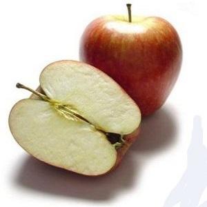 Amarre de amor con una manzana