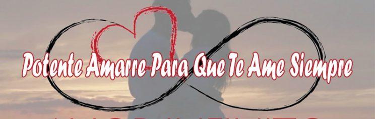 Amarre De Amor Para Que No Te Deje De Amar